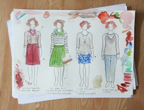 Autumn Sewing Plans – Sketches