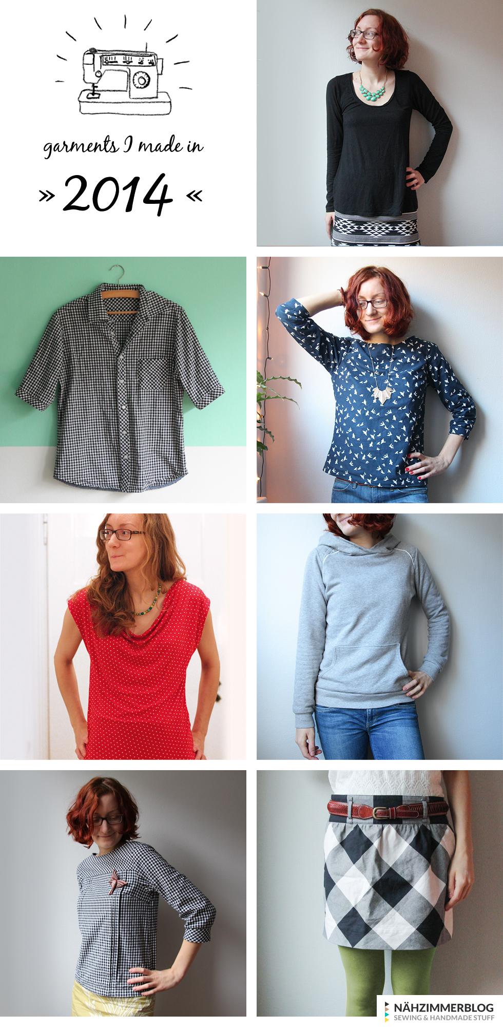 garments I made in 2014 | naehzimmerblog.de