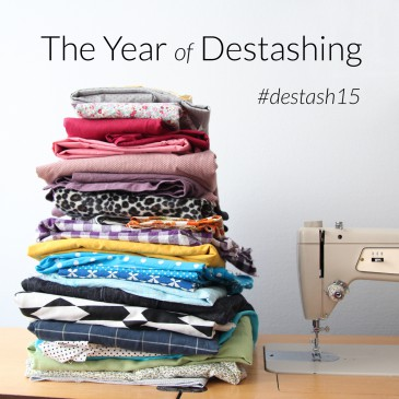 The Year of Destashing #destash15 | naehzimmerblog.de