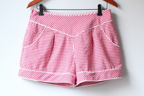 Gingham Deer&Doe Chataigne Shorts: Front | naehzimmerblog.de