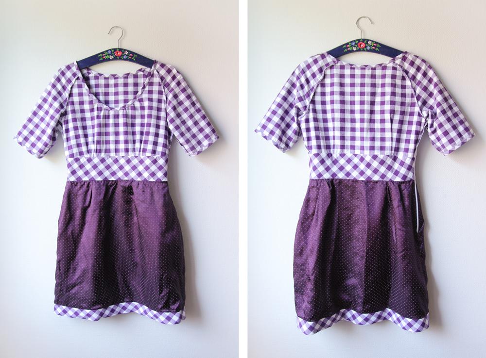 Dahlia Dress: Insides