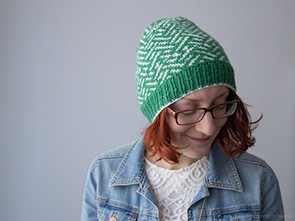 Green Vega Knit Hat | naehzimmerblog.de