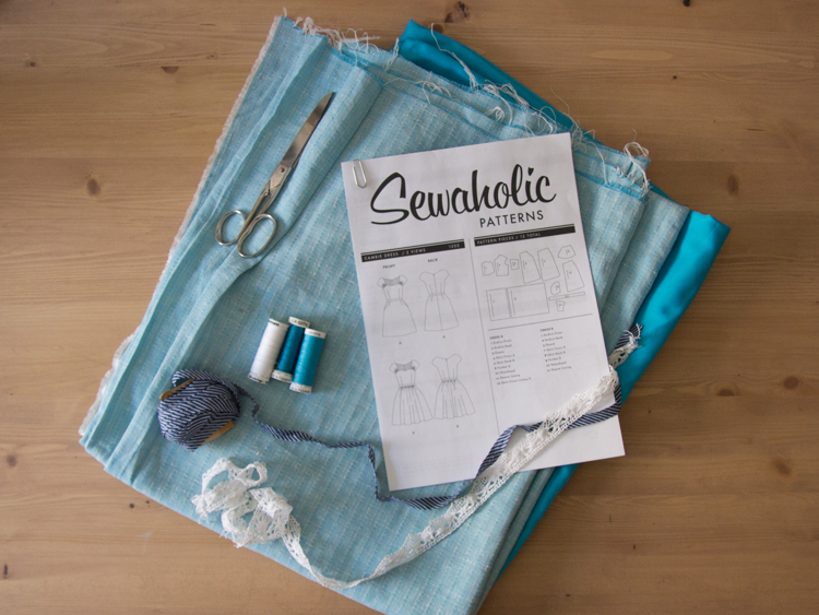 Outfit Along 2015: Sewing the Sewaholic Cambie Dress | naehzimmerblog.de