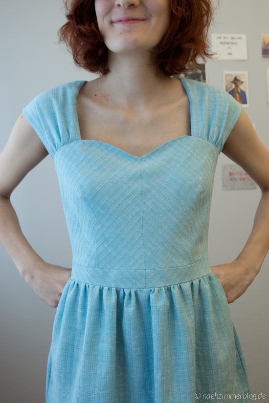 Cambie Dress Bodice Detail | naehzimmerblog.de