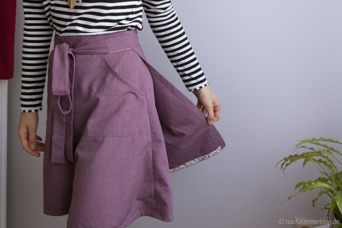 Miette Wrap Skirt | naehzimmerblog.de