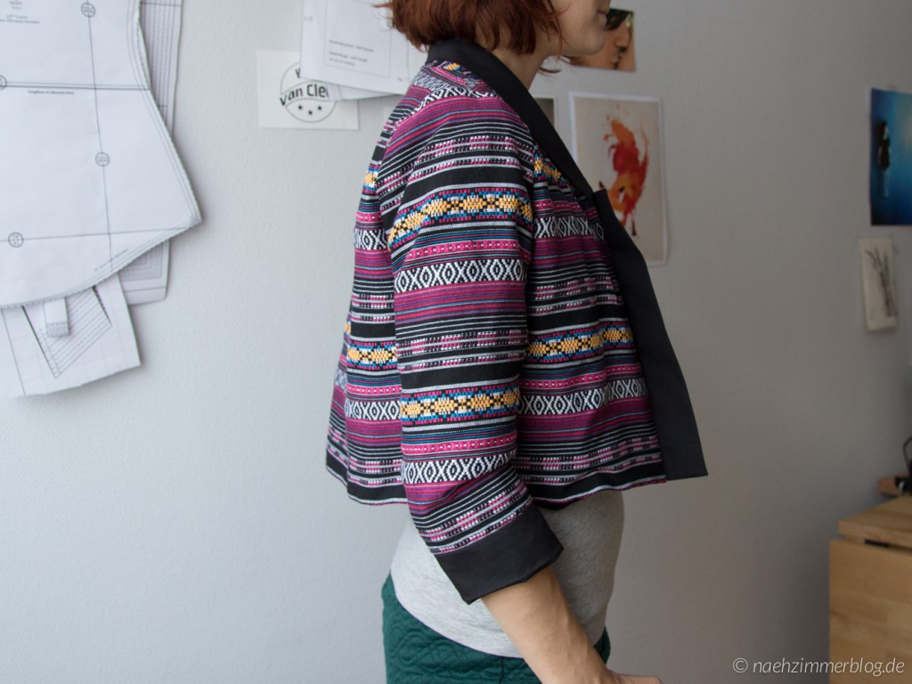 Victoria Blazer Back and Sleeves Fitting Problems 1