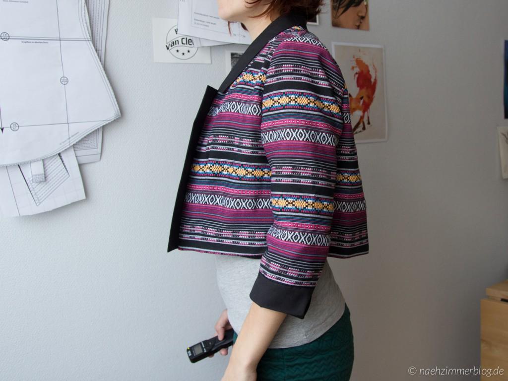 Victoria Blazer Back Fitting Problem