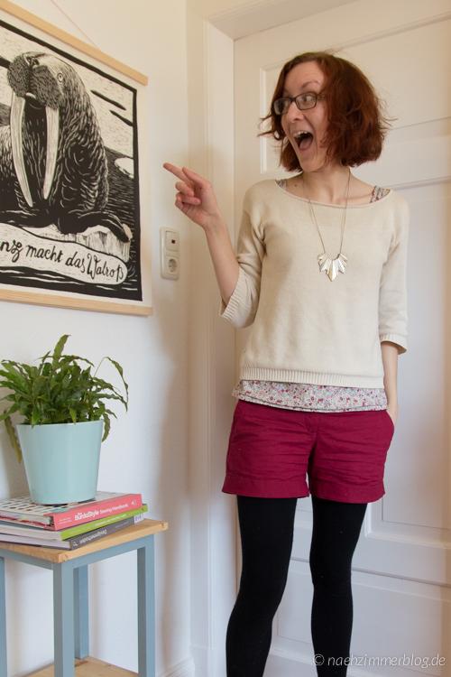 Burda Easy Shorts | naehzimmerblog.de