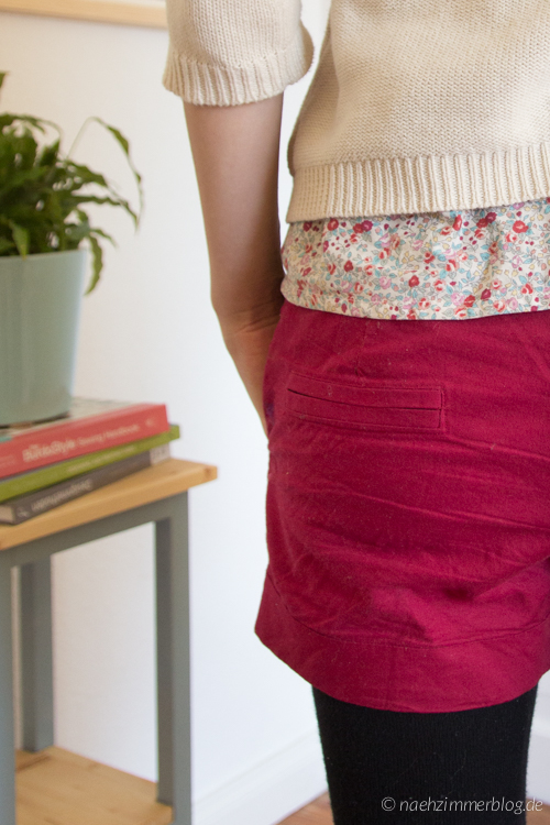 Burda Easy Shorts: Faux Welt Pockets | naehzimmerblog.de