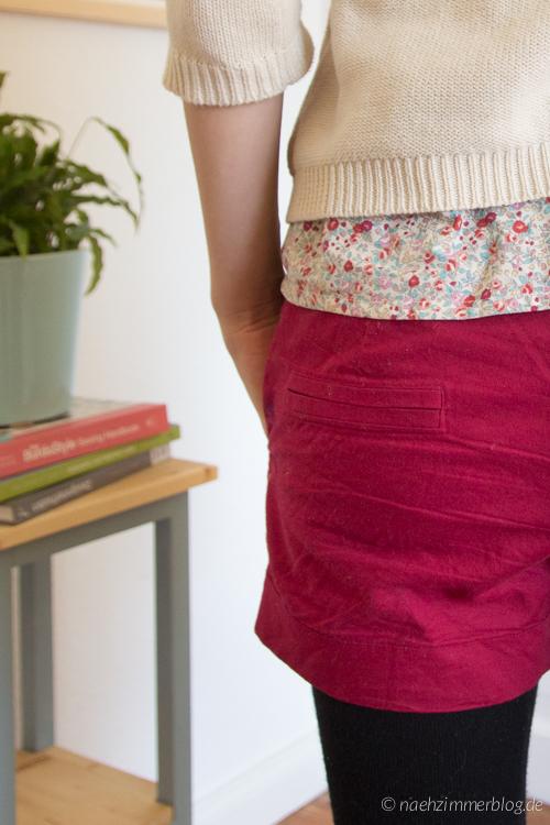 Burda Easy Shorts: Faux Welt Pockets | naehzimmerblog.de