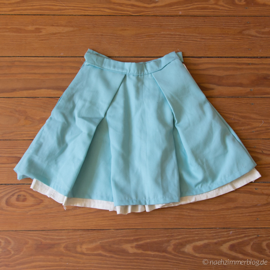 Unfinished Burda Skirt Sewing Project
